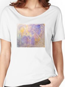 Gorgeous hand made pigment design for large decorative Wall Art and Textile prints Women's Relaxed Fit T-Shirt
