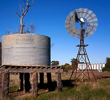 Country Scene - NSW by Hans Kawitzki
