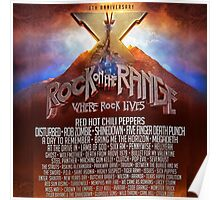 Rock On The Range 2016 lineup Poster