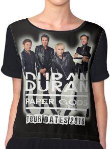 Duran Duran Paper Gods 2016 Chiffon Top