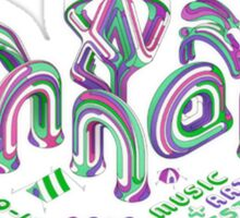 Bonnaroo Music + Arts Festival 2016 Sticker