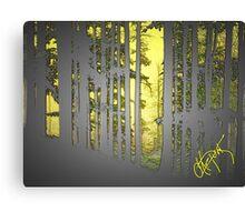 Mountain Trees Series Canvas Print
