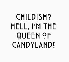 Queen of Candyland Black Unisex T-Shirt