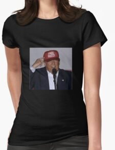 trump: free gucci mane Womens Fitted T-Shirt
