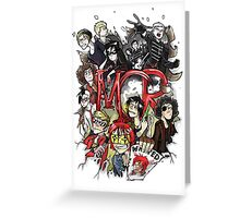 My chemical romance forever  Greeting Card