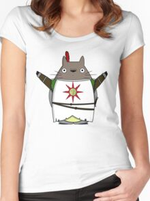 Totoro Praise the Sun Women's Fitted Scoop T-Shirt
