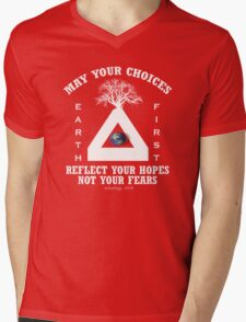 hope Mens V-Neck T-Shirt