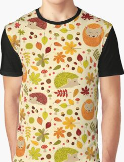 Hedgehogs and Chestnuts Graphic T-Shirt