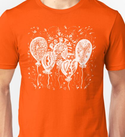 Party Time Aussie Tangle White - Heather Holland - See Product Notes re Colour Options.  Unisex T-Shirt