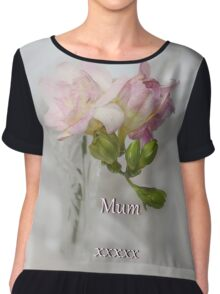 For Mum Chiffon Top