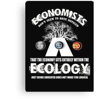 economy ecologist Canvas Print