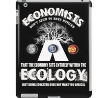 economy ecologist iPad Case/Skin
