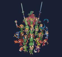The Legend of Zelda 30th anniversary Kids Tee