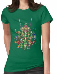 The Legend of Zelda 30th anniversary Womens Fitted T-Shirt