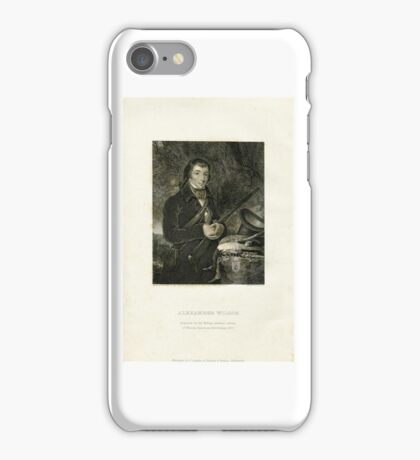 Alexander Wilson Ornithology Prints  iPhone Case/Skin