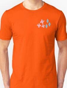 My little Pony - Fluttershy + Rarity Cutie Mark V3 T-Shirt