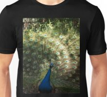 Peacock in the Sun Unisex T-Shirt