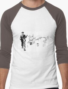 Back to twenties nostalgic fashion and style. Men's Baseball ¾ T-Shirt