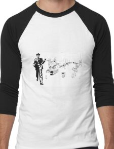 Back to twenties nostalgic fashion and style. Men's Baseball ¾ T-Shirt