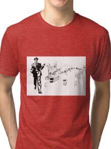 Back to twenties nostalgic fashion and style. Tri-blend T-Shirt