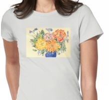 Bouquet of Love Womens Fitted T-Shirt