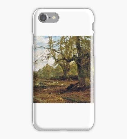 Alfred De Bréanski, Snr - Burnham Beeches, Autumn iPhone Case/Skin