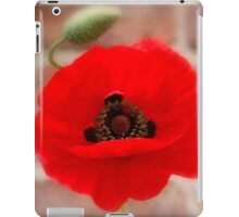 Misty Poppy iPad Case/Skin
