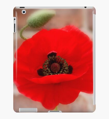 Misty Poppy iPad Case/Skin