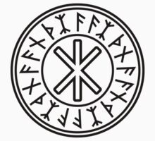 Odin's Protection No.2 (black) One Piece - Short Sleeve