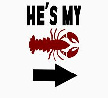 He's My Lobster Women's Fitted Scoop T-Shirt