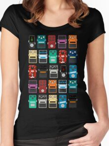Pedal Board Women's Fitted Scoop T-Shirt