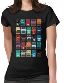 Pedal Board Womens Fitted T-Shirt