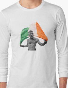 Conor McGregor UFC Fighter Irish Long Sleeve T-Shirt