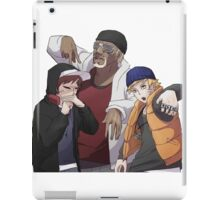 Naruto, Killer B and Gaara iPad Case/Skin