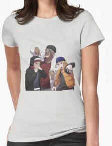 Naruto, Killer B and Gaara Womens Fitted T-Shirt