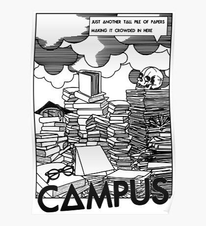 Campus - Bastille  Poster