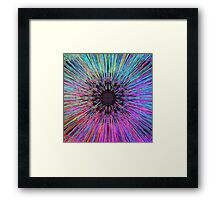 Arcade Blues. Framed Print