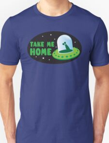 Take me HOME with cute Alien spacecraft T-Shirt