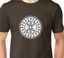 Odin's Protection No.2 (black white) Unisex T-Shirt
