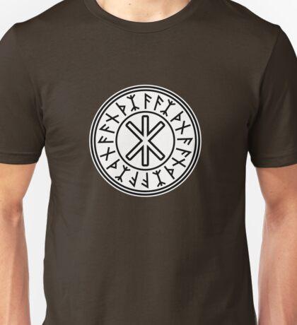 Odin's Protection No.2 (black white) Unisex T-Shirt