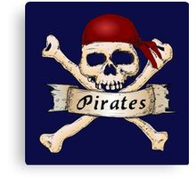 Go Pirates Canvas Print