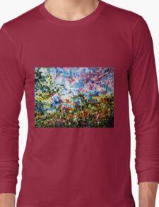 ENCHANTING SPRING - ABSTRACT Long Sleeve T-Shirt