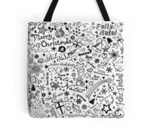 Merry Christmas Multiple Languages Tote Bag