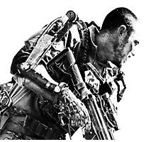Armed soldier Photographic Print
