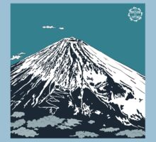 Mt Fuji from the Sky One Piece - Short Sleeve