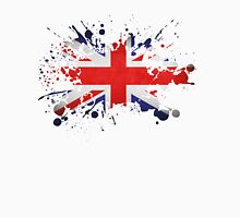 UK Union Jack Paint Splat Flag Unisex T-Shirt