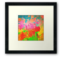 Crazy World. Framed Print