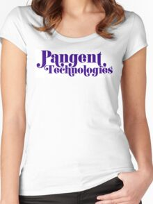 Pangent Technologies (White) Women's Fitted Scoop T-Shirt