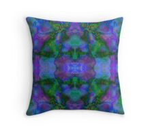 Psychedelic Hallucinations Throw Pillow
