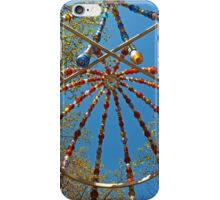 Colourful Canopy at the the Palais-Royal iPhone Case/Skin